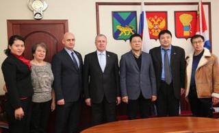Дуннинская делегация из Китая посетила Уссурийск