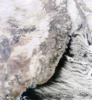 Фото Приморья попало в ТОП-20 лучших видов России из космоса