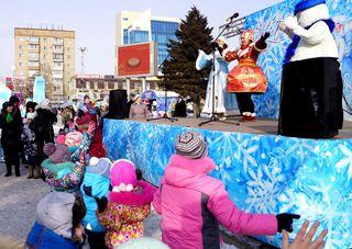 Ледовый городок Уссурийска посетили более 50 000 человек