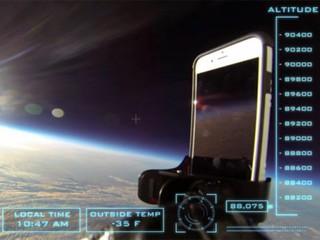 iPhone 6 уронили из космоса, и он уцелел