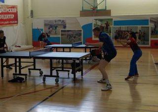В Уссурийске определили победителей дальневосточного чемпионата по настольному теннису