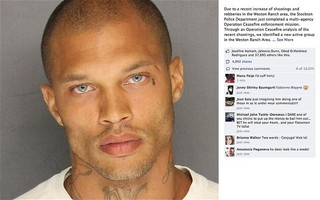 «Самого красивого преступника США» приговорили к двум годам тюрьмы