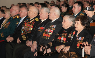 Торжественное мероприятие, посвященное Дню защитника Отечества, прошло в ДОРА