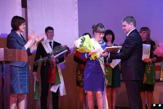 Евгений Корж наградил победителей муниципального профессионального конкурса «Педагог года - 2015»