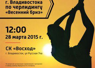 Уссурийская команда черлидеров едет на чемпионат