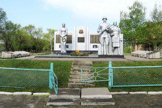 Е. Корж проследит за ремонтом мемориального комплекса в с. Воздвиженка