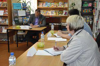 Заместитель главы администрации УГО Андрей Галаев встретился с жителями округа «Мелькомбинат»