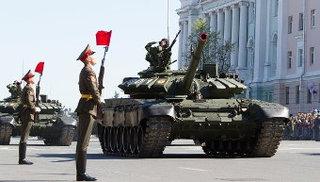 Танки Т-72 и артиллерия примут участие в Параде Победы в Уссурийске