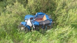 Водитель мотоцикла разбился под Уссурийском