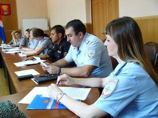 Заседание межведомственной комиссии по профилактике правонарушений прошло в Уссурийске