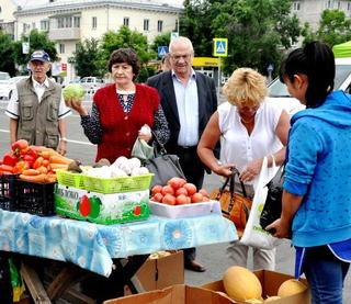 Сельскохозяйственная ярмарка расширяет ассортимент и прилавки в Уссурийске