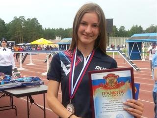 Призером России по пожарно-прикладному спорту стала уссурийская спортсменка