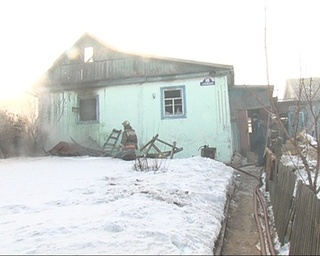 В огне погибла хозяйка частного дома