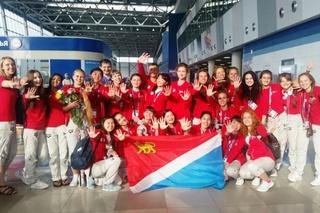 Волонтеры Приморья вернулись с Чемпионата мира FINA 2015