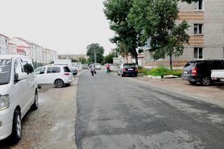 Межквартальные проезды ремонтируют в Уссурийске