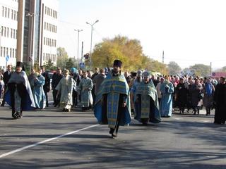 15 сентября во время Крестного хода будет перекрыто дорожное движение на улицах Уссурийска