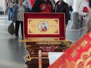 24 сентября в Уссурийск прибудет православная святыня – ковчег с мощами Равноапостольного князя Владимира