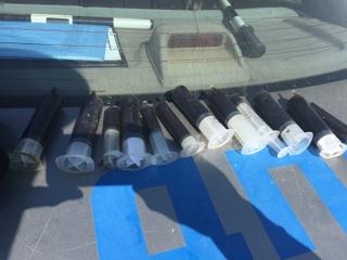 В Уссурийске сотрудники ГИБДД изъяли крупную партию наркотиков у пассажира такси