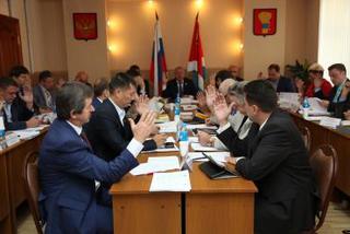 После августовских каникул в администрации прошло заседание Думы УГО