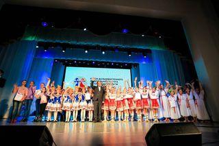 Ансамбль из Уссурийска получил награду на региональном этапе Чемпионата России по народным танцам
