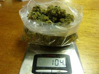 В Уссурийске транспортные полицейские выявили наркотики в крупном размере
