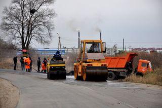 Ремонт дорог в Уссурийске продолжается