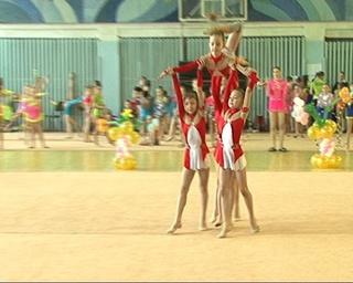 Уссурийск принимал на своем гимнастическом ковре около 200 гимнасток