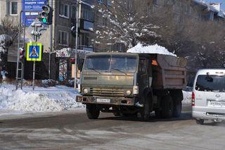 Административная комиссия проверяет работу управляющих компаний по уборке снега в Уссурийске