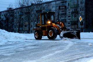 Оперативная информация по расчистке дорог и тротуаров Уссурийска на 27 января