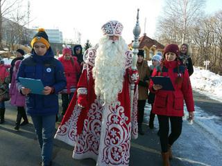 Дед Мороз будет летать на воздушном шаре в Уссурийске