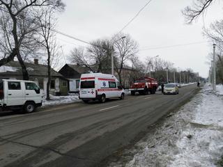Возгорание жилого дома произошло в Уссурийске. (Фото)