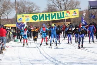 На базе отдыха «Южная» стартовала уссурийская «Лыжня России – 2016»