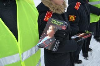 Сотрудники Госавтоинспекции и кадеты Уссурийского Суворовского училища провели акцию «Пристегнись!»