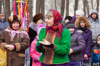 Традиционные масленичные гуляния прошли в Уссурийске