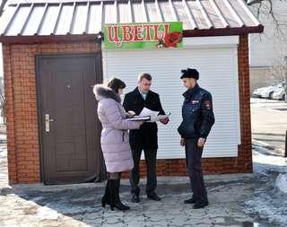 Незаконно установленные торговые точки будут демонтированы в Уссурийске