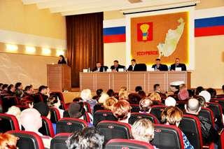 В формате живого диалога прошла встреча главы администрации с жителями Уссурийска