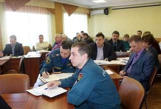 Заседание комиссии по предупреждению и ликвидации ЧС и обеспечению пожарной безопасности состоялось в Уссурийске