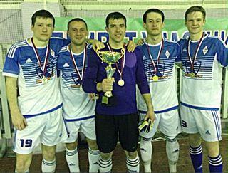В Уссурийске команда «Динамо» победила в соревнованиях по мини-футболу
