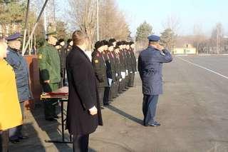 Команда Уссурийского суворовского военного училища заняла первое место в краевом фестивале ГТО