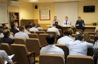 В Уссурийске сотрудники транспортной полиции подвели итоги своей работы в 1-ом квартале