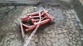 Вандалы повредили электропроводку и разрисовали свежеокрашенные стены в ремонтируемом подземном переходе в Уссурийске
