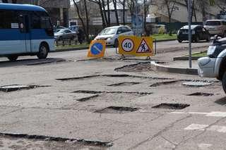 Ямочный ремонт в Уссурийске идет полным ходом
