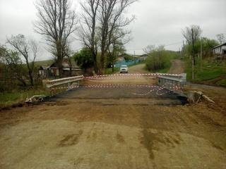 В Уссурийске отремонтировали еще два моста