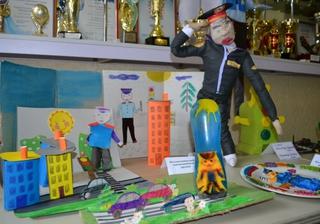 В Уссурийске полицейские провели региональный этап конкурса «Полицейский дядя Степа»