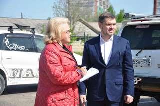 Проблемные места округа проинспектировал глава администрации УГО Евгений Корж