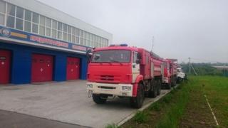 В Уссурийск прибыла новая пожарно-спасательная техника