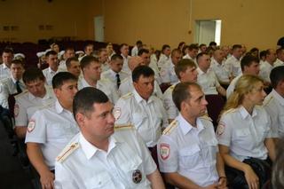В Уссурийске состоялась торжественная церемония награждения лучших сотрудников ГИБДД