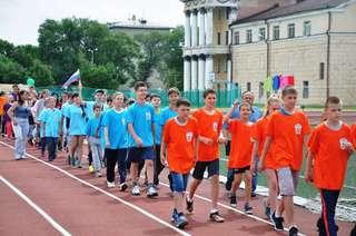 Фестиваль детских дворовых команд «Уссурийские старты» прошел на городском стадионе