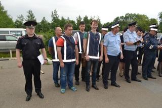 Совместный рейд полицейских и членов ДНД прошел в Уссурийске