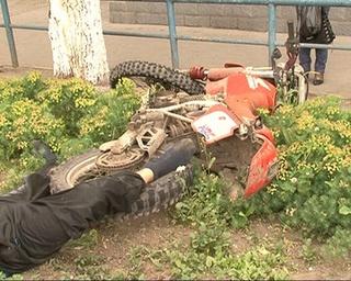 Погибли водитель и пассажир мотоцикла